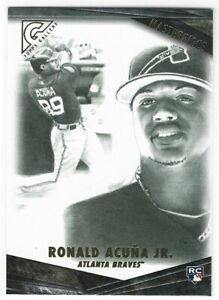 RONALD ACUNA JR 2018 TOPPS GALLERY MASTERPIECE ROOKIE BRAVES O1