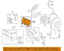 LAND ROVER OEM 10-15 LR4 Brake-Front Pads LR051626