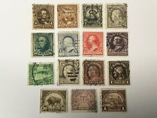 old stamps USA x 15
