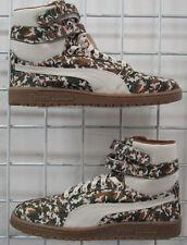Men's Puma Sky II Hi Camo Sneakers, New Beige Camo Sport Life Walking Shoes 9.5
