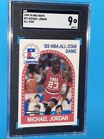 1989-90 Michael Jordan NBA Hoops All-Star #21 - SCG 9 MINT PSA Comp Invest