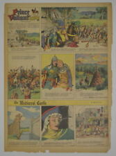 Prince Valiant Full Color Sunday Page King Features Hal Foster 7/9/1944, #387