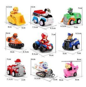 6/7/9Tlg Paw Patrol Figuren Geschenk Zurückziehen Autos Kinder Spielzeug car toy