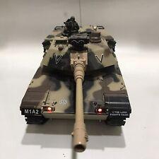 Us M1A2 Rc Battle Tank Radio Remote Control No Remote