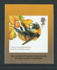 GREAT BRITAIN 2015 THE HONEYBEE SELF ADHESIVE STAMP UNMOUNTED MINT, MNH