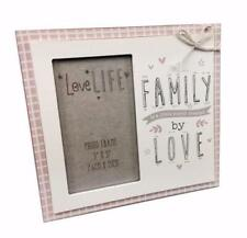 Novelty Lovely Family Photo Frame With Sentiments 3 x 5 New FW1059