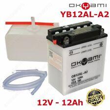 BATTERIA OKYAMI YB12AL-A2 +CONF. ACIDO BMW 650 F GS / DAKAR (R13) 2001-2007