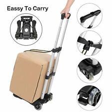 Coocheer Aluminum Folding Hand Trucks Portable Luggage Cart Travel Hand x