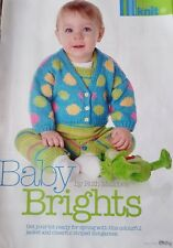 Baby Knitting Pattern. Baby luminoso da Ruth Maddock