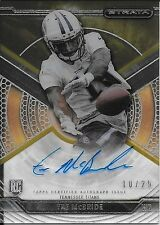 2015 Topps Strata Gold #TM Tre McBride On Card Rookie Autograph #10/25