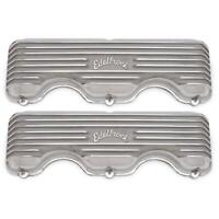 Edelbrock 4140 348/409 Chevy Finned Aluminum Valve Covers