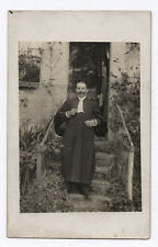 PHOTO ANCIENNE HOMME AVOCAT JUSTICE JUGE ROBE TOGE MÉTIER - Vers 1920