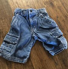 Euc Mossimo Size 4 Boys Cargo Jean Shorts