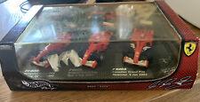 Hot Wheels 1/43 Scale B7022 - F1 Ferrari 3 Piece Set 2000 - 2002