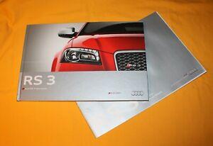 Audi RS 3 Sportback 2011 Prospekt Brochure Depliant Catalog Prospetto Folder