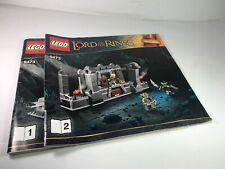 Lego Lord Of The Rings 9473 Mines Of Moria INSTRUCTION MANUALS ONLY