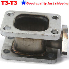 T3-T3 304 Stainless steel Turbo Manifold Adapter + 38MM Wastegate Flange Outlet