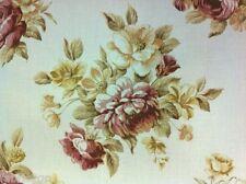 "Lino Mezcla Floral algodón impresa ""parisienne' Rose Warwick tejidos Npr £ 36"