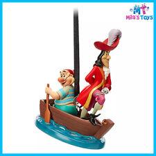 Disney Captain Hook and Mr. Smee Sketchbook Ornament – Peter Pan brand new