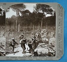 WW1 Stereoview The Famous Gurkhas With Kukries Neuve Chapelle Realistic Travels