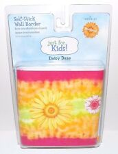 "Imperial Self-Stick Wall Border Just for Kids Daisy Daze Removable 5"" x 15'"