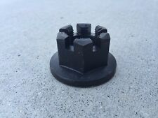 """Castle Nut for Rotary Cutter Output Shaft Blade Pan Shaft 1""""-14 Thread"""