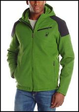 $249 NEW SPYDER OUTSETTER INSULATED MID WEIGHT HYBRID CORE SWEATER JACKET MENS S