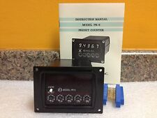 Non Linear Systems PR-5, 5 Digit, LED Counter, New in Box w/ Manual!
