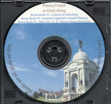PA at Gettysburg Battlefield - 2 Vols, + Bonus Books
