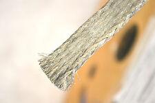 Flat Tinned Copper Wire Braid 0.55mm x 17mm wide (1 Metre)