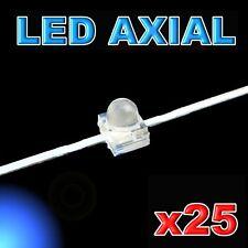 372/25#LED axial 1,8mm bleu  25pcs