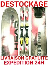 ski occasion enfant HEAD tailles:97cm/107cm/117cm + fixations
