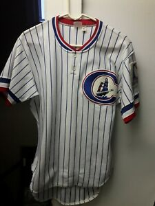 1983 Columbus Clippers Brad Gulden Home Game Used Jersey #27 NY Yankees AAA