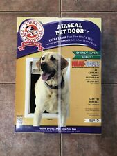 IDEAL PET PRODUCTS   White AIR-SEAL PET DOOR EXTRA LARGE WHITE 10 1/4 X 15 3/4