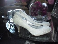 Monsoon ivory lace  Bridal Shoessize 6 nwob