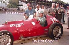 Alberto Ascari Ferrari 375S Indianapolis 500 1952 fotografía 3