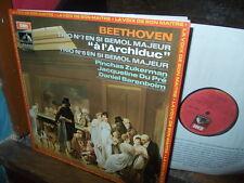 BEETHOVEN: Archduke trio + HAYDN   Barenboim Du Pre Zukerman / EMI F stereo LP