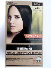 AROMAGANIC Permanent Organic Hair Colour -  3.0N DARK BROWN ( NATURAL )