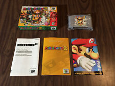 Mario Party 2 (Nintendo 64, N64) Complete in Box / CIB -- Authentic -- Tested