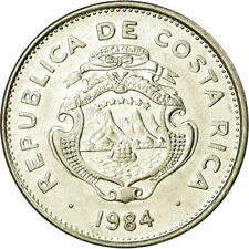[#709420] Coin, Costa Rica, 50 Centimos, 1984, EF, Stainless Steel, KM:209.2