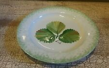 "9 1/8"" Green Leaf Display Plate EA Made in Italy EUC"