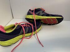 New Balance Sneaker Size 7 Purple Pink & Yellowish-green