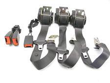 2002 - 2008 JAGUAR X-TYPE REAR SEAT BELT RETRACTOR SET LEFT RIGHT MIDDLE BUCKLE
