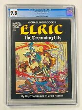 MARVEL GRAPHIC NOVEL #2 Marvel Comics 1982 CGC 9.8 Elric: The Dreaming City