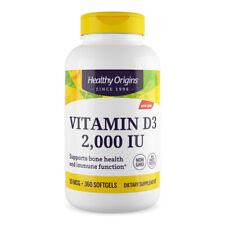 Healthy Origins Vitamin D-3 2000iu 360 softgels - Vitamina D3