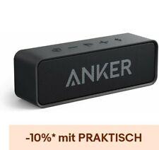 Anker SoundCore Bluetooth Tragbarer Lautsprecher 6W Dual-Treiber Schwarz Alexas