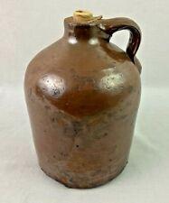 "Vintage Stoneware Moonshine Water Jug Clay Beehive 8.5"""