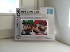 Genuine Nintendo DUO Game Case For DS & DS Lite with Stylus LUIGI AND MARIO
