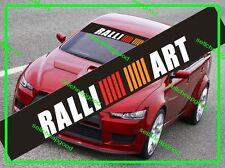 Mitsubishi Ralliart Sunstrip Windshield Decal for Pajero Lancer Evolution Colt