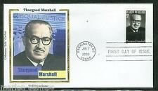 UNITED STATES 2003 THURGOOD MARSHALL  COLORANO  'SILK' CACHET FIRST DAY  COVER